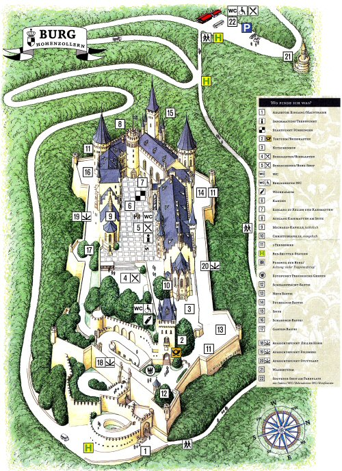 Fotos Burg Hohenzollern